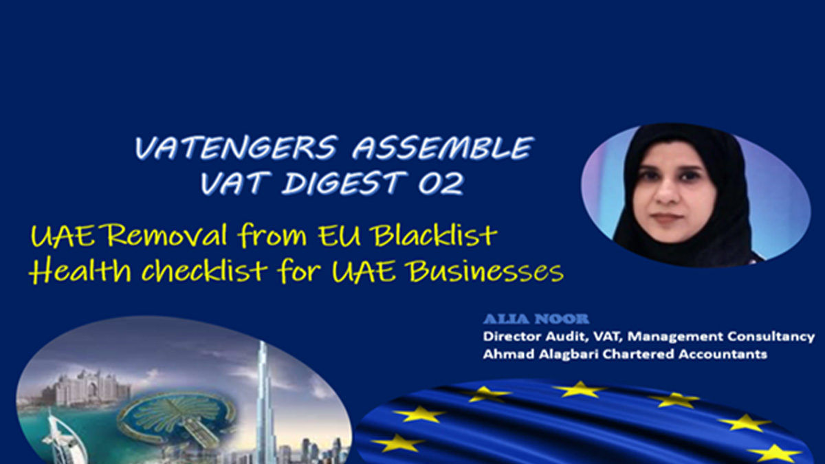 Economic Substance Regulation Background and Health check for UAE Businessess