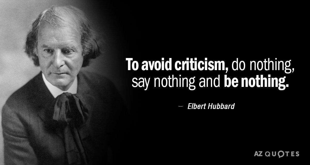 Importance of Constructive Criticism