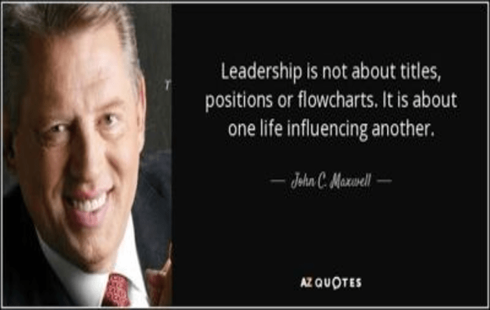 True Leaders Influence Others