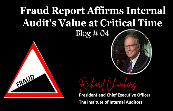 Fraud Report Affirms Internal Audit's Value at Critical Time