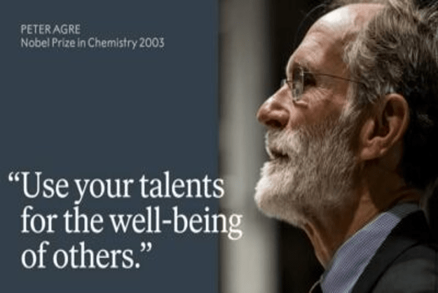 Use your talents for the well-being of humanity